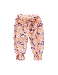 [Cute Paw] Outdoor Pants Baby Harem Pants Bloomers Kids Summer Linen Pants