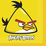 Angry Birds Lunch Napkins Party Accessory, Health Care Stuffs