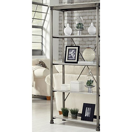 Home Styles The Orleans Multi-Function 5 Shelf Unit - and Ma