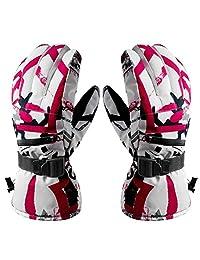 Winter Ski Snow Glove Men Women Warm Waterproof Touchscreen for Snowboard Sport