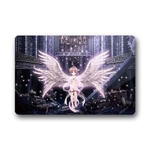 """JozabePersonalized Doormat - Custom Cardcaptor Sakura Door Mat Size (23.6""""x15.10"""")"""