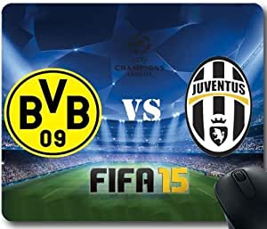Premium Quality Rubber Mouse Pad Juventus-17 Custom Your Own Personalized Mousepad JDFJsdj738637