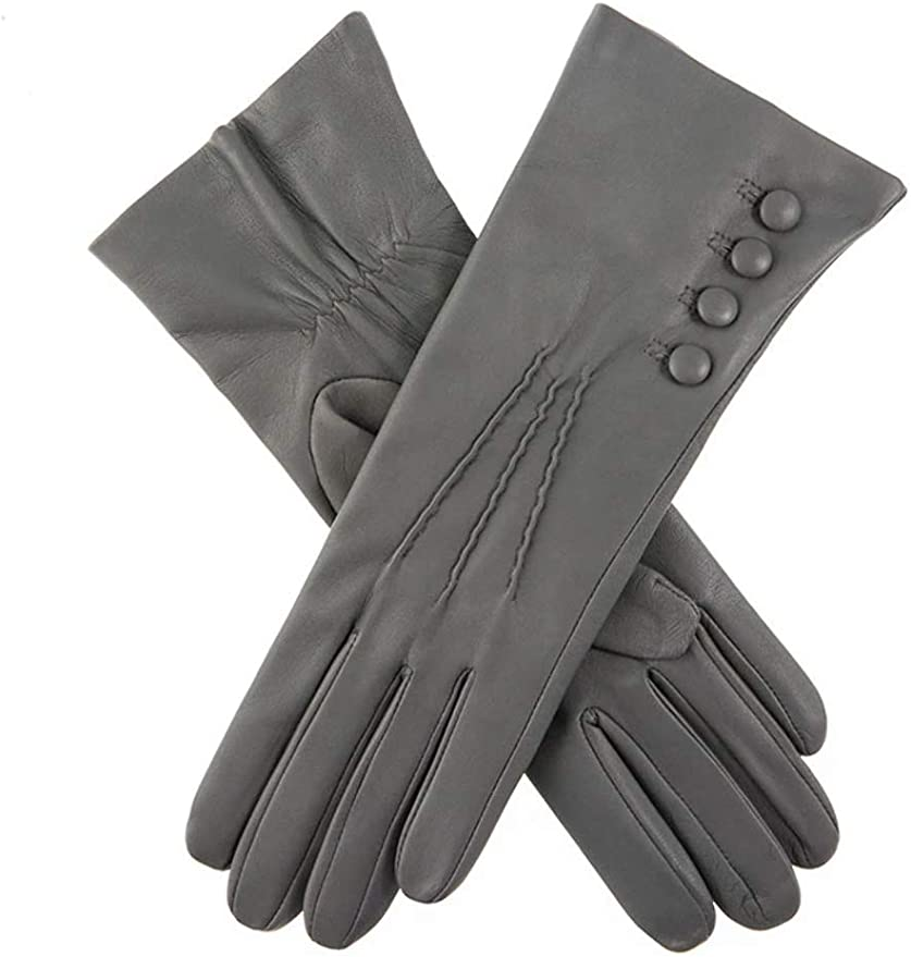 Vintage Style Gloves- Long, Wrist, Evening, Day, Leather, Lace Dents Womens Silk Lined Leather Gloves £84.00 AT vintagedancer.com