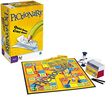 Amazon Com Pictionary The Game Of Quick Draw Toys Games