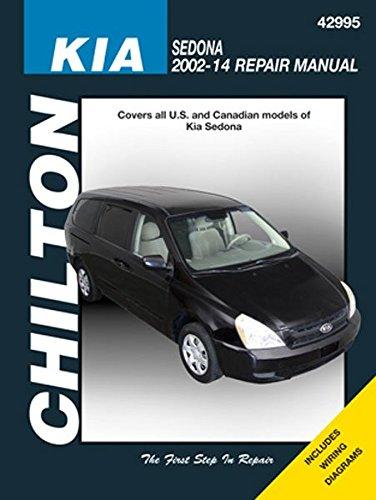 amazon com kia sedona chilton repair manual 2002 2014 automotive rh amazon com 2006 kia sedona repair manual 2006 kia sedona repair manual