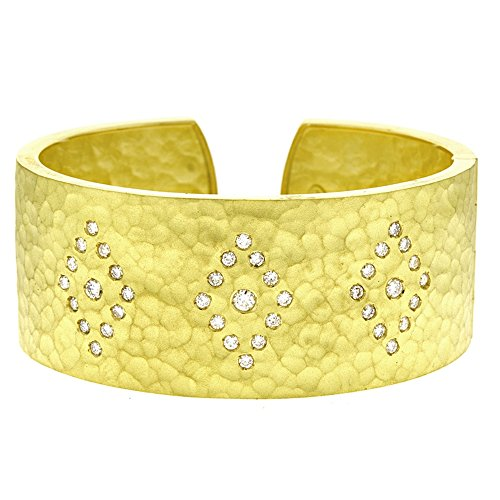 1.41ctw. Diamonds 18KT Yellow