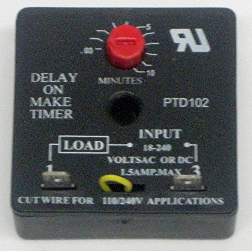 Packard PTD102 Delay on Make Timer Relay by Packard