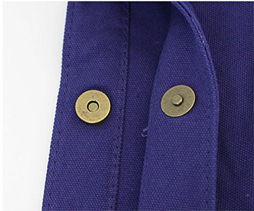 Canvas Shoulder Soild Gray Craft Handbag Hoxis Paint Tote Hobo Bag Color DIY qxgW4E