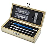 XACTO X5096 Scrapbooking Knife Set with Convenient Wooden Carrying Case for Organized Storage