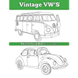 Vintage VW's: An Adult Coloring Book