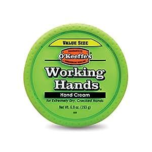 O'Keeffe's K0680001 Working Hands Hand Cream Value Size, 6.8 oz, Jar