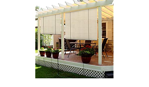 TANG parasoles Depot exterior Roller Shade: Amazon.es: Jardín