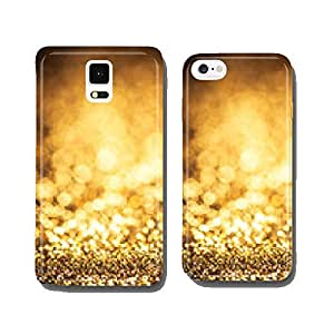 classic gold color bokeh glitter background cell phone cover case iPhone6 Plus