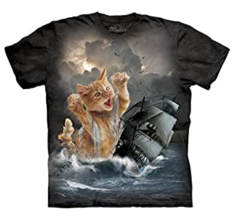 The Mountain Men's Krakitten T-Shirt Black S