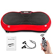 ELECPOP Vibration Plate Exercise Machine - Upgraded Whole Body Workout Fitness Platform for Home Fitness &