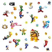 RoomMates 673SCS Nintendo Super Mario Peel and Stick Wall Decals