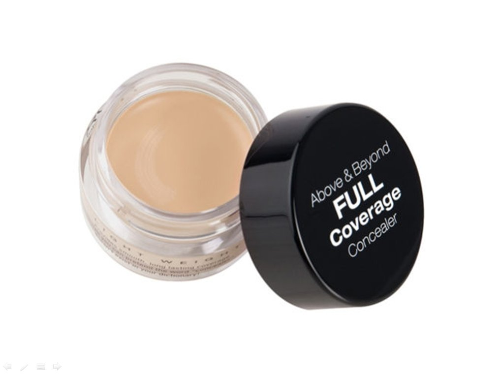 NYX Cosmetics Full Coverage Concealer Jar_BEIGE_CJ04 **BCS_BZ_WT**