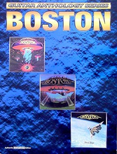 Boston Sheet Music - Boston -- Guitar Anthology: Authentic Guitar TAB (Guitar Anthology Series)