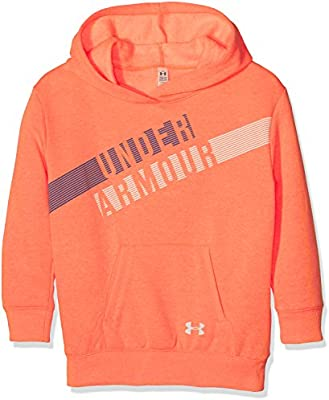 Under Armour Favorite Fleece Hoody Sudadera con Capucha, Niñas