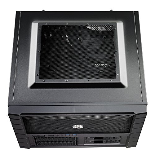 Cooler Master HAF XB EVO - High Air Flow Test Bench and Lan Box Desktop Computer Case with ATX Motherboard Support