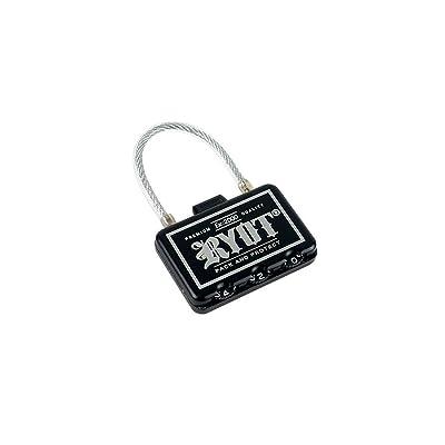RYOT Combo Case Lock - For Locking Piper, Slym, Pro-Duffle, Krypto, Hauler, Axe Pack, HeadCase, PackRatz, HardCase and More