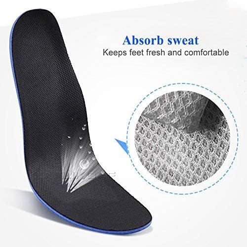 LONG-X 2 Stücke Sport Einlegesohle Einfügen Kissen Dämpfung Freies Schneiden für Männer Frauen Orthopädische einlegesohlen pad,L