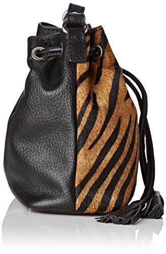 Loxwood 3235fa - Bolso al hombro para mujer Marron (Zebradkb)
