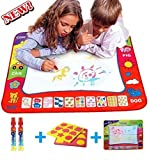 ot tubs - Water drawing mat painting - Learning doodle board toy - Baby Toys for 2/3/4/5/6 years old boys & girls - Baby gift