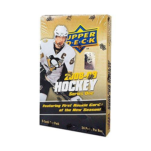 09 Trading Card Box - 2008-09 Upper Deck Series 1 Hockey Hobby Box