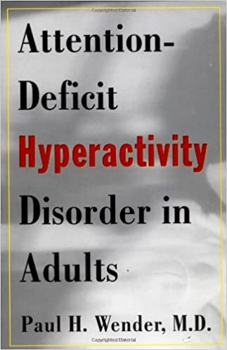 Attention Deficit Hyperactivity Disorder In Adults 9780195119220