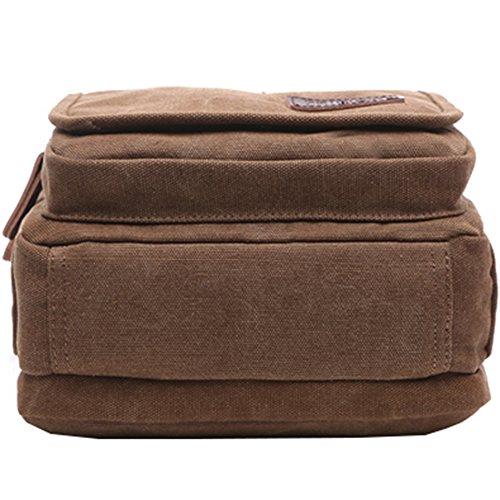 Mygreen Men's Multifunctional Canvas Shoulder Bag Handbag Multi-Pockets Business Messenger Bags Outdoor Sports Over Shoulder Crossbody Side Bag by mygreen (Image #7)