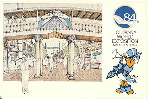 Louisiana World Exposition 1984 New Orleans Original Vintage Postcard from CardCow Vintage Postcards