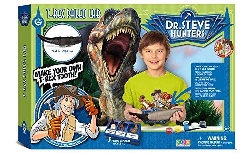 (Dr. Steve Hunters T-Rex Tooth Paleo Lab Paleontologist Approved DIY Science Kit)