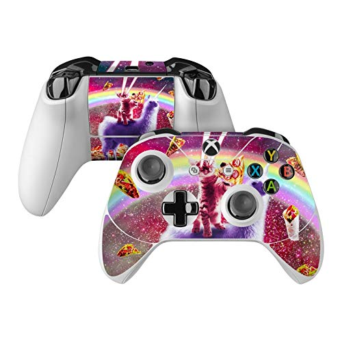 Llama Drama Skin Decal Compatible with Microsoft Xbox One and One S Controller - Full Cover Wrap for Extra Grip and Protection from DecalGirl
