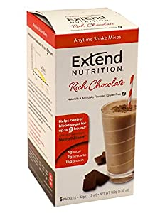 ExtendShake, Chocolate, 5-Count Servings