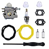 Woworld WT-973 Carburetor With Adjustment Tool Repower Kit for Walbro WT973 Bolens BL110 BL160 BL425 Cub Cadet Trimmer Brushcutter Carb