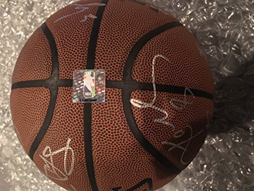Official All Conference NBA Authenticated Team Autographed Basketball Kobe Bryant, Vujacic, Green, Walton, Odem & Many More ()