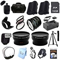 ULTRA PROFESSIONAL ACCESSORY PACKAGE: for Nikon D800 and D800E SLR Cameras