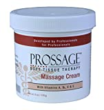 Product review for Prossage Heat Warming Relief Massage Cream for Deep Tissue Massage and Therapeutic Massage, Topical Pain Reliever for Soft Tissue Mobilization, Sore Muscles, Joint Pain Relief, 6 Ounce Jar (Pack of 6)