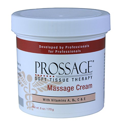 Prossage Massage Cream for Deep Tissue Massage and Therapeutic Massage,Topical Pain Reliever for Soft Tissue Mobilization, Trigger Point Therapy, Sore Muscles, Joint Pain Relief,6 Ounce Jar(Pack of 6) Pro Joint Topical Lotion