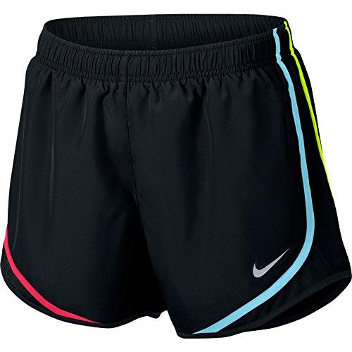 ntrast Trim Running Shorts Black M ()