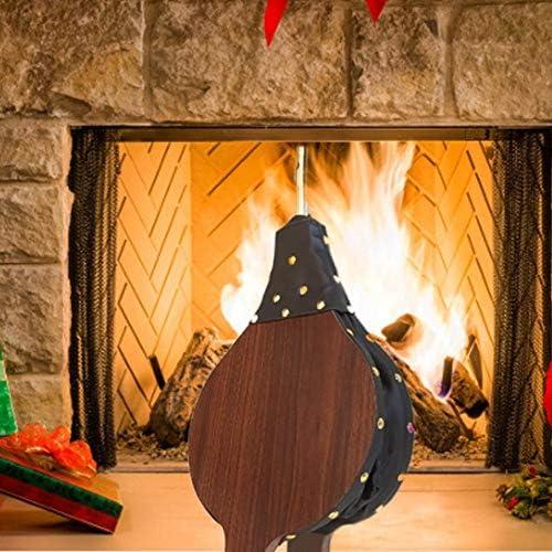 Ardorman 54/25/ 5cm Soufflet De Cheminée en Bois Marron Manuel Rapide Fire Starter Soufflerie d'air, pour Cheminée, Barbecue Et Le Camping