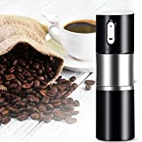 Sundlight Manual Coffee Grinder Stainless Steel Portable Coffee Maker Bottles Body Bean Machine for Travel Office Home Outdoor