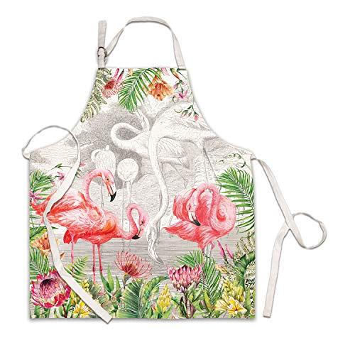 Michel Design Works Apron, Flamingo ()