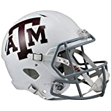 Texas A&M Aggies White Officially Licensed NCAA Speed Full Size Replica Football Helmet