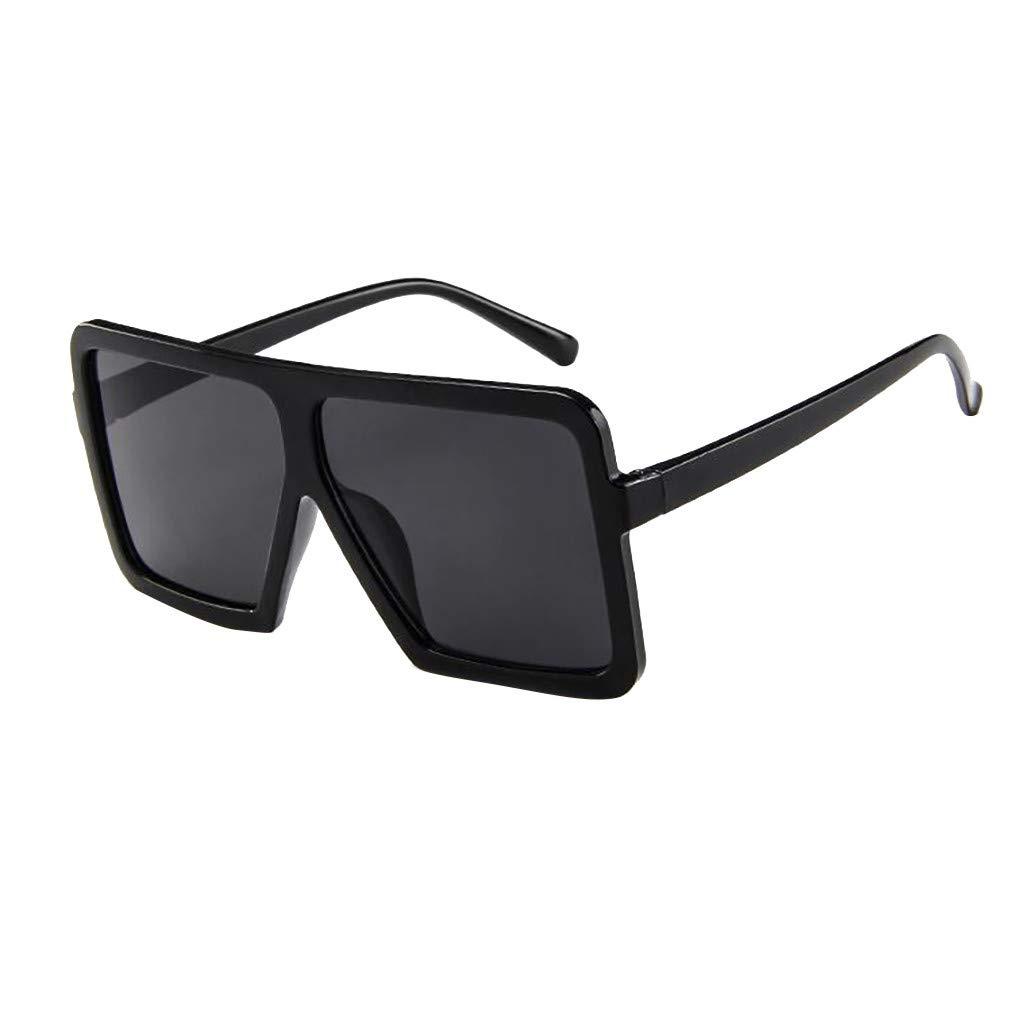 b6a780d12952 Unisex Big Frame Sunglasses,Suma-ma Women Men Vintage Retro Glasses Outdoor  Sunshade Eyeglasses Sunglasses & Eyewear Accessories