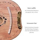 Lyre Harp, 10 Metal String Mahogany Plywood Body