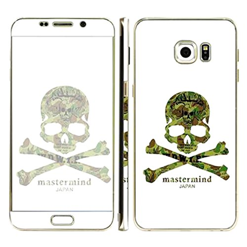 [Just Mode(TM)Colorful Style Full Body Film Sticker Case Cover Protector for Samsung Galaxy S6 Edge Plus-Skull White] (Puma New Wave)