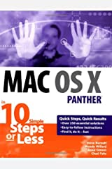 Mac OS X Panther in 10 Simple Steps or Less Paperback
