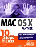 Mac OS X Panther in 10 Simple Steps or Less, Steve Burnett and Wendy Willard, 0764542389